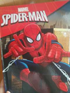 Spiderman books and poster