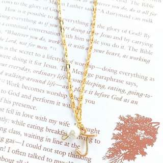 Personalized Initial Necklace with Charm