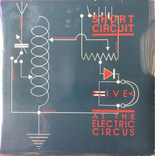 "SHORT CIRCUIT LIVE @ the Electric Circus 10"" lp vinyl record feat Joy Division"