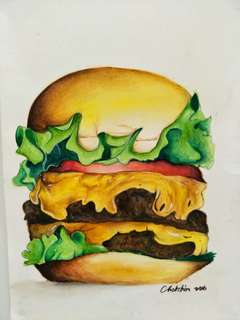 🍔 painting