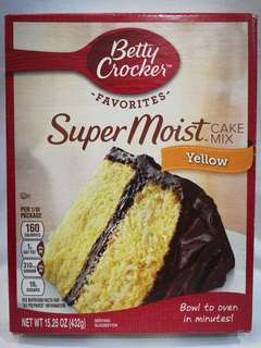 Betty Crocker Cake Mix for sale