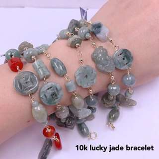 Lucky Jade Charm