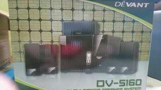 Devant Dv5160 theater speaker system 5.1