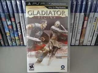 PSP - Gladiator Begins