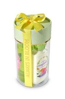 Bath & Bodyworks Sweet Magnolia & Clementine Bow Gift Set