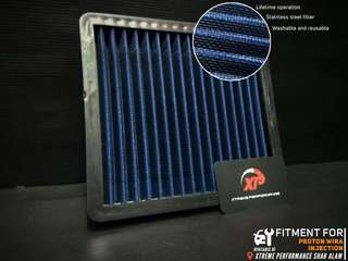 AIR FILTER drop in simota proton WIRA injection STAINLESS STEEL