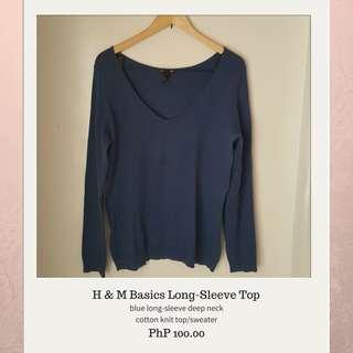 H&M Basics LongSleeve Top/Sweater