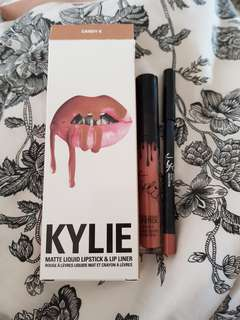 Authentic Kylie Matte Lip kit Candy K