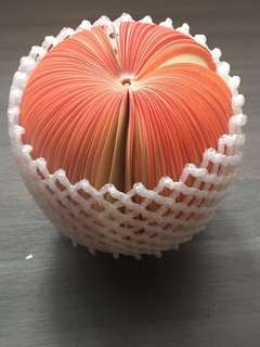 Fruit shaped Note paper