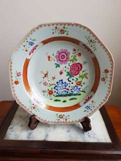 Old Chinese export plate