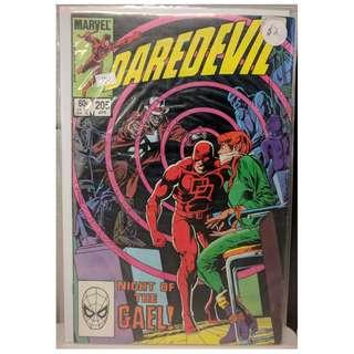 *Marvel* Daredevil #205