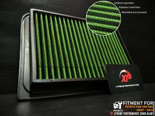 Air filter racing DROP IN toyota vios 2007 - 2013 2nd generation