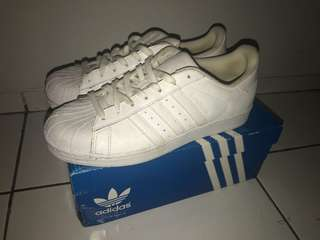 Adidas Superstar White / Putih