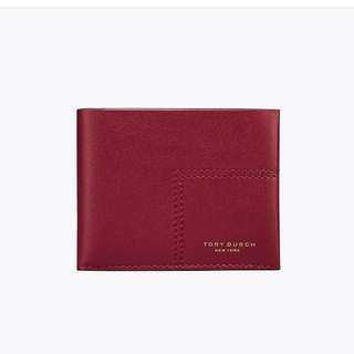 [New] Tory Burch Block T Wallet 皮短銀包
