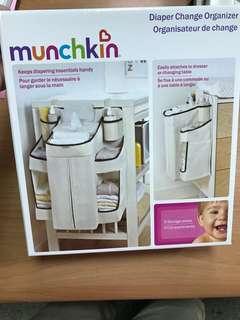 🚚 全新現貨美國 Munchkin 寶寶尿布收納袋 尿布置物袋【Baby outlet】