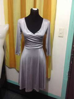 Gray Spandex Dress (Medium-Large frame)