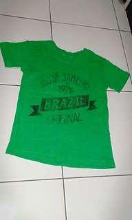 t-shirt anak size 4-5T