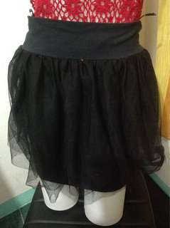 Black Tutu Skirt (Small-Medium frame)