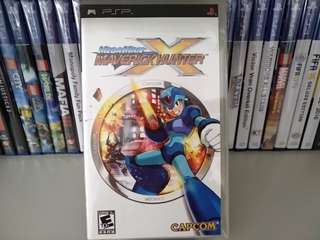 PSP - Megaman X: Maverick Hunter