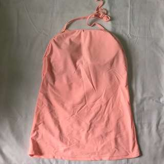 Cotton On halter tankini Pink