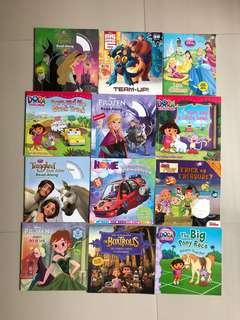 Used 12pcs children english story book