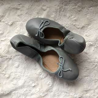 Shoebox Ballet Flats