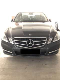 Wedding Car Rental Mercedes Benz E250 CGI