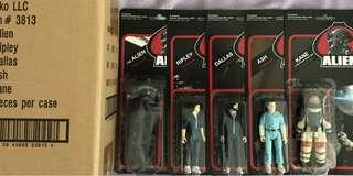 ReAction Figures Full Set of 5 - Alien Collectible