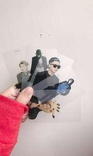 Namjoon Fansite Transparent Photo Cards
