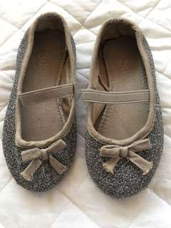 Silver Doll Shoes