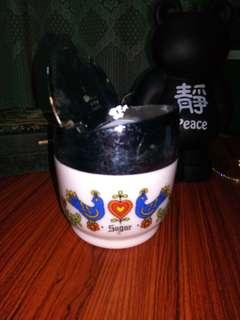 Condiments Ceramic Container