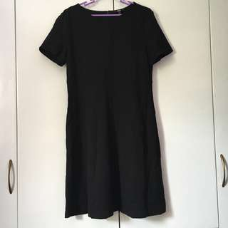Uniqlo Dress Black