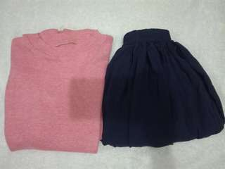 BUNDLE TOP & SKIRT