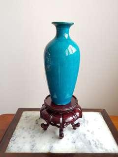 Old Chinese monochrome vase