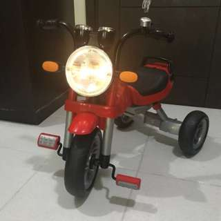 Kids Trike with Headlight and Engine Sounds