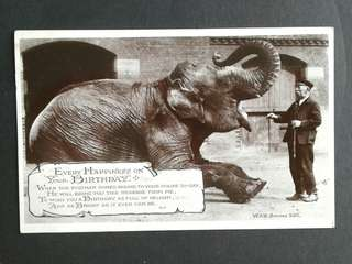 1923 British postcards.