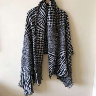 Zara Inspired thick scarf