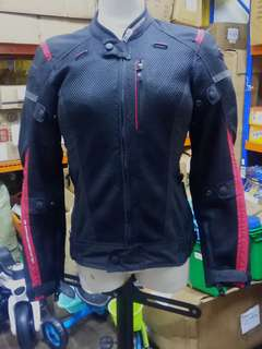 @Pre-Loved KOMINE JK-069 Airstream Mesh Jacket Arius (ladies)
