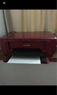 Canon Printer MG3570 with TWO NEW INKS // STILL AVAIL