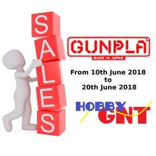 Sales for MG, RG and HG kits