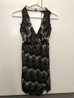 BNWT black lace dress