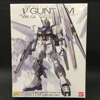 Bandai 1/100 MG RX-93 Nu Gundam Ver. Ka