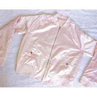SILKY PALE PINK Jacket