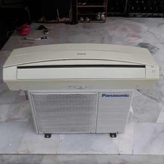 Panasonic Aircond 2Hp & 1.5Hp Good Condition