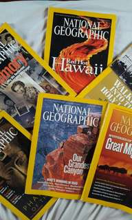 National Geographic old copies