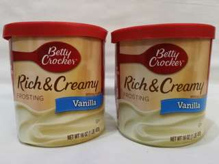 Betty Crocker Rich and Creamy Frosting