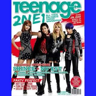 Teenage Magazine (2NE1, 4MINUTE, YG Family)