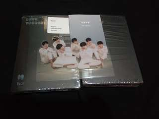 Bts love yourself tear unsealed album