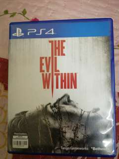 PS4 Evil Within