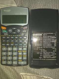 Sharp EL-509WM Mathematics Calculator